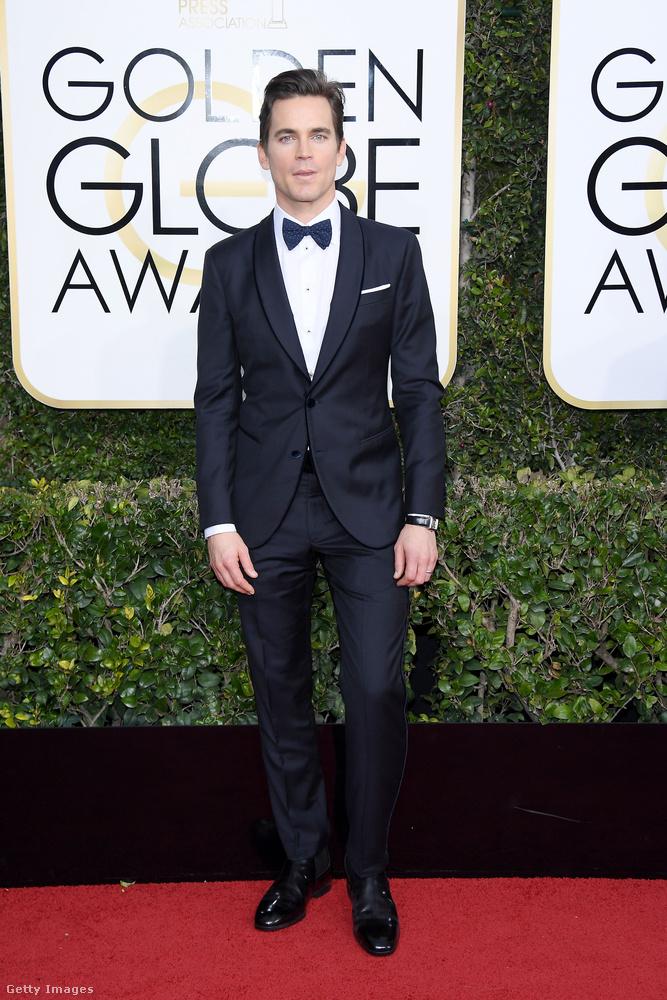 Matt Bomer nem kapott, csak átadott díjat.