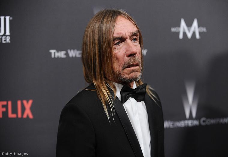 A 2017-es Golden Globe-gálán a Stooges zenekar alapítótagja, Iggy Pop is ott volt