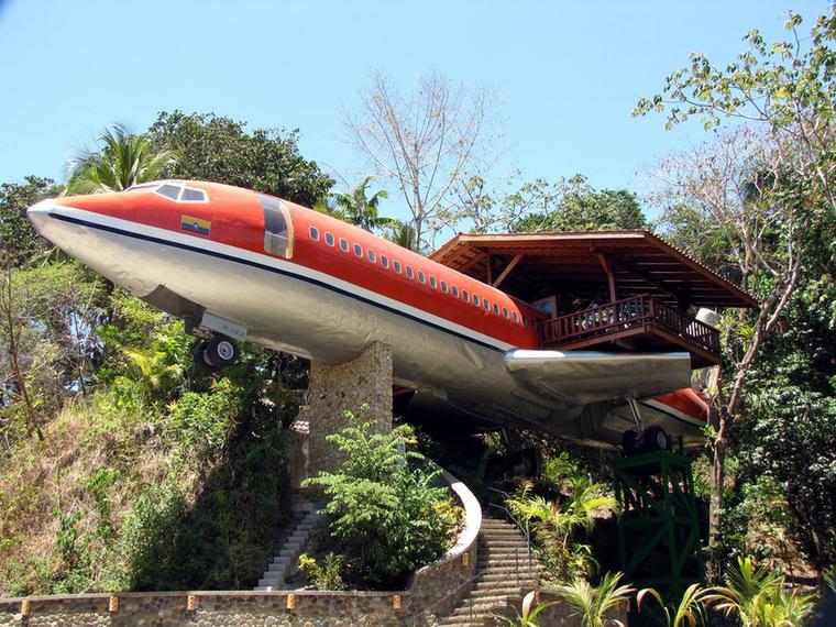 Costa Rica esőerdejében egy Boeing 727-es kapott második esélyt hotelként