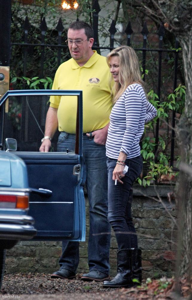 Feltételezzük, hogy többen szívesen lennének Kate Moss fiújának a helyében,