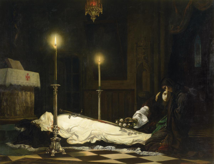 Hunyadi László siratása (1859)