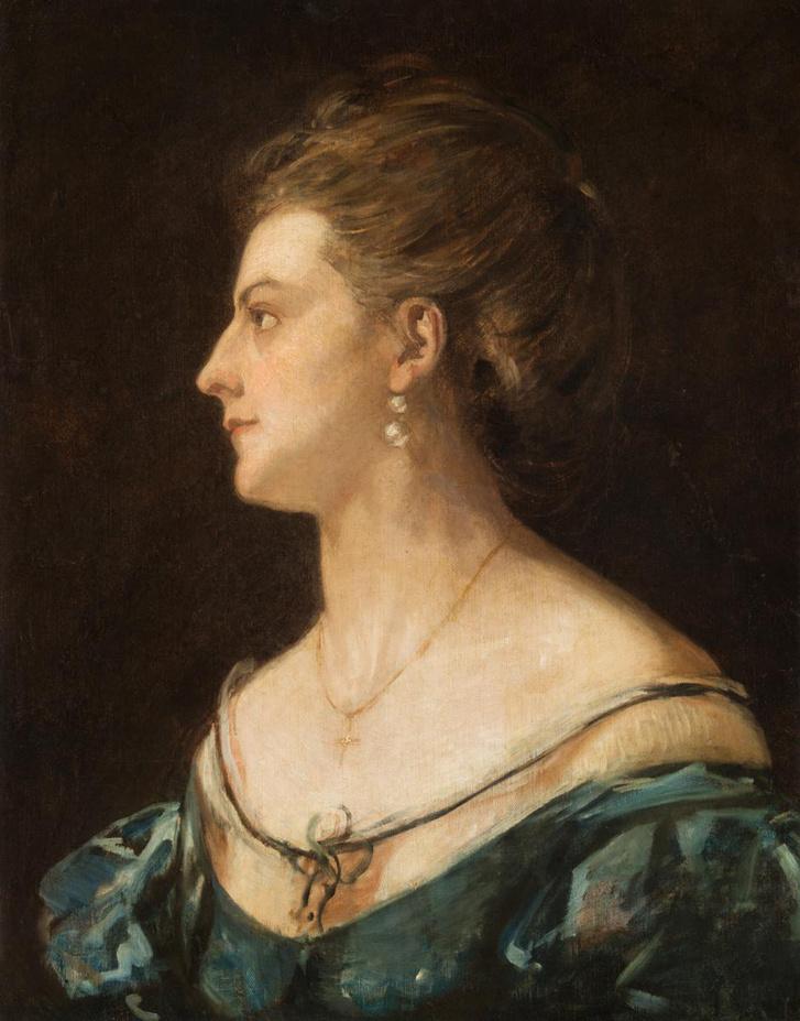 Felesége arckép (1871)