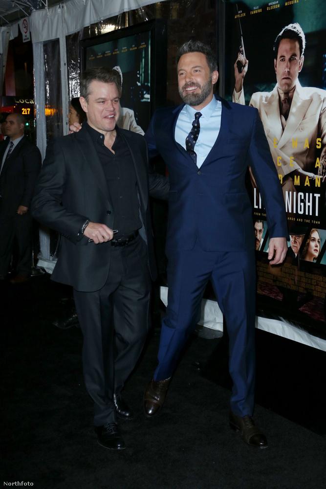 illetve Matt Damon és Ben Affleck (aki a film forgatókönyvírója és rendezője) is.