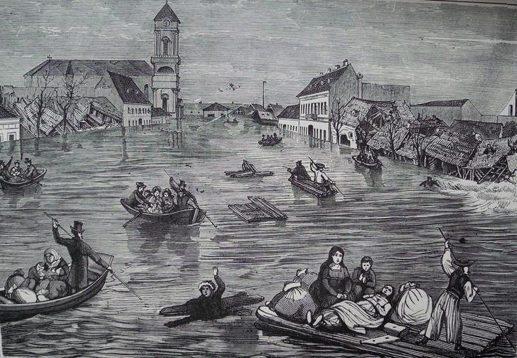 Az 1838-as nagy dunai árvíz