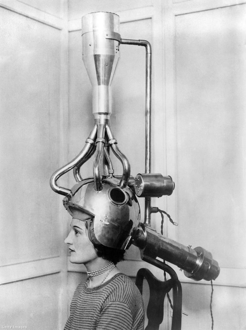 Ez az ugyancsak az 1930-as években kifejlesztett hajszárító mintha egyenesen Fritz Lang 1927-es remekművéből, a Metropolisból merített volna ihletet.