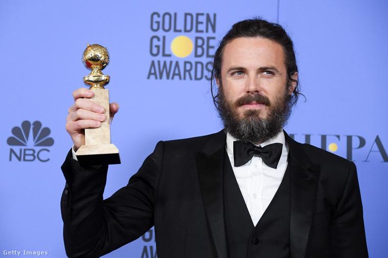 Casey Affleck A régi városért kapta meg a Golden Globe-díjat.
