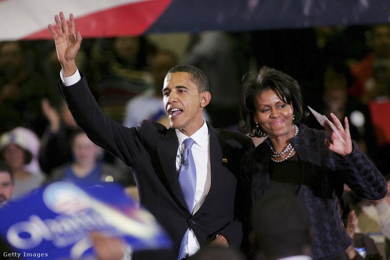 Michelle Obama minden fontos pillanatban ott volt, és mindig volt valami jele, hogy ők mennyire szeretik egymást