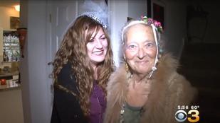 85 évesen lett koszorúslány az idős hölgy