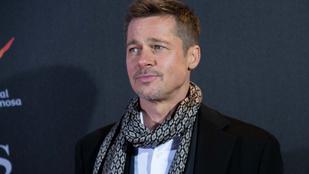 Brad Pitt látványosan lefogyott, de nemcsak a válása miatt