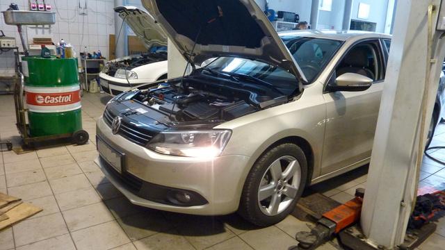 Volkswagen Jetta állapotfelmérésen