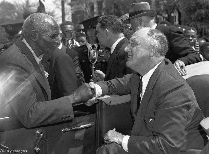 Carver és Roosevelt