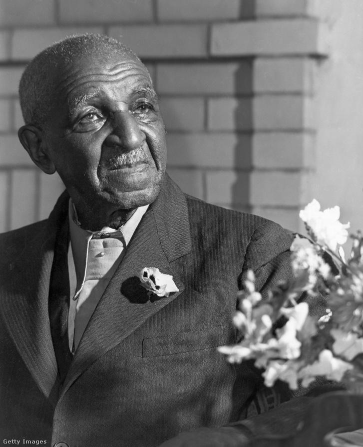 George Carver 1942-ben, halála előtt egy évvel