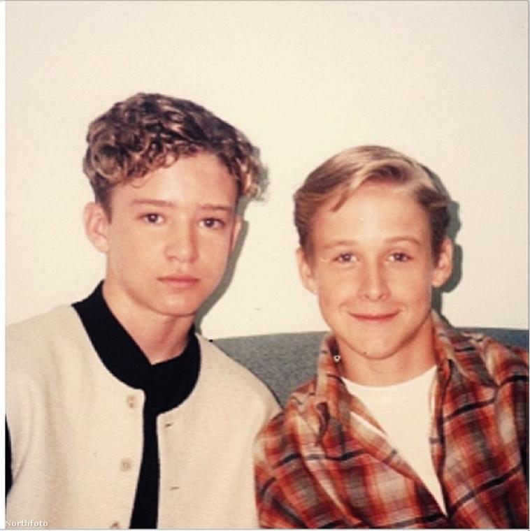 Gosling első nyilvános szereplése például a Disney tévécsatornán volt, a legendás Mickey Mouse Club című gyerekműsorban, ahol olyan partnerei voltak, mint például Justin Timberlake (a képen balra)