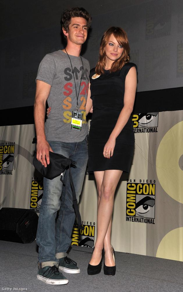 majd megkapta élete első blockbuster filmszerepét a Csodálatos Pókemberben - és nem mellékesen a forgatás alatt össze is jött a szuperhőst alakító Andrew Garfielddel