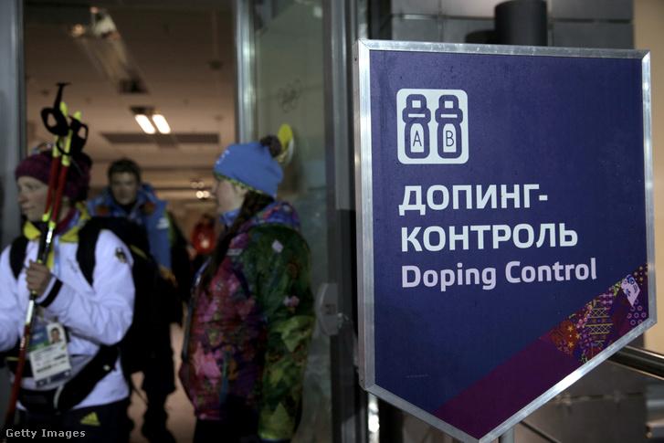 Dopping ellenőrzés a Szocsi olimpián
