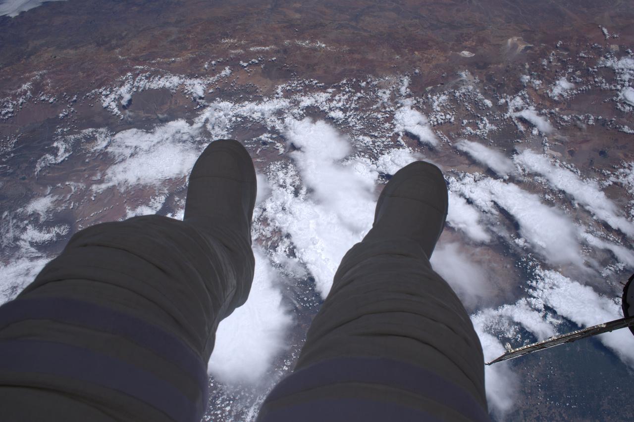 """""""Ez az űrséta: 400 kilométernyi mélység a lábad alatt."""""""