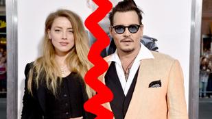 Bepöccent a bíró, így Johnny Deppék végre elváltak
