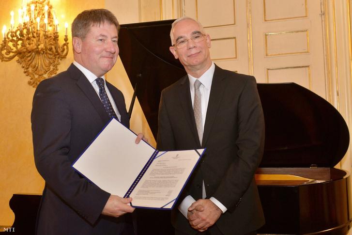 Balog Zoltán (jobbra) és Prőhl Gergely