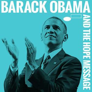"""A """"Horace Silver And The Jazz Messages"""" című lemez borítójának újragondolt verziója Obamával"""