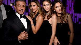 Sylvester Stallone lányai a kifutón is gyönyörűek