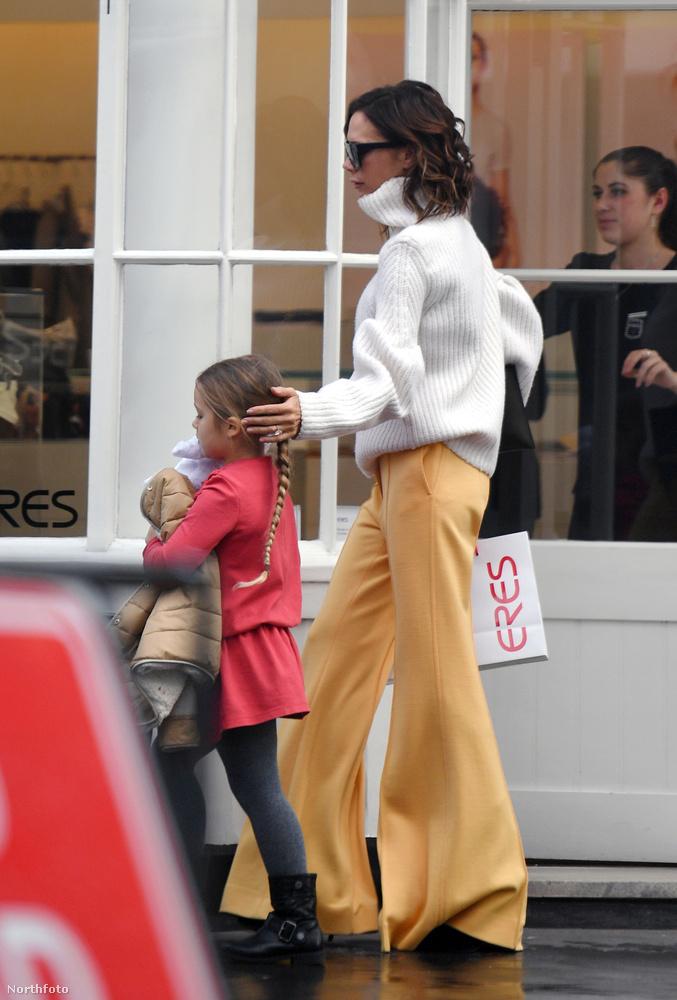 A Spice Girls tagjaként elhíresült Victoria Beckham kislánya még 2011-ben született