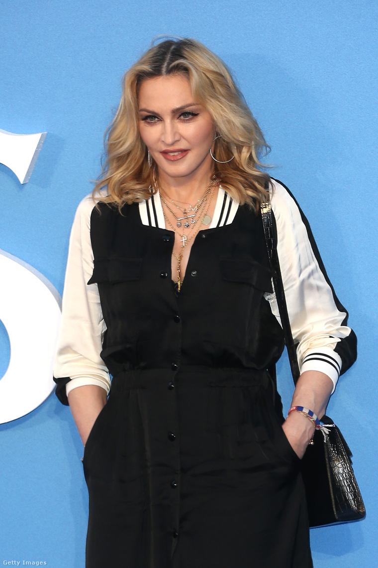Madonna, a híres anyu.