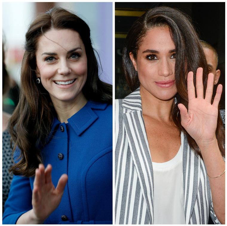 Kate Middleton és Meghan Markle.