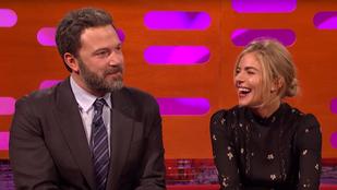 Ben Affleck itt viccesen beszél arról a 9 órás szexjelenetről, ami annyira megviselte színésznő partnerét
