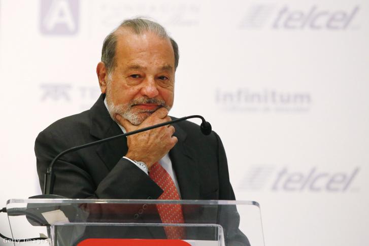 Carlos Slim beszántaná