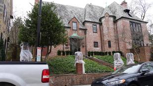 Obamáék új lakhelye majdnem annyira esztétikus, mint a Fehér Ház