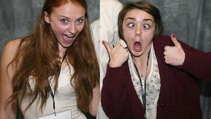 A Trónok harca Aryája régi fotókat kért Sansával, az internet válaszolt