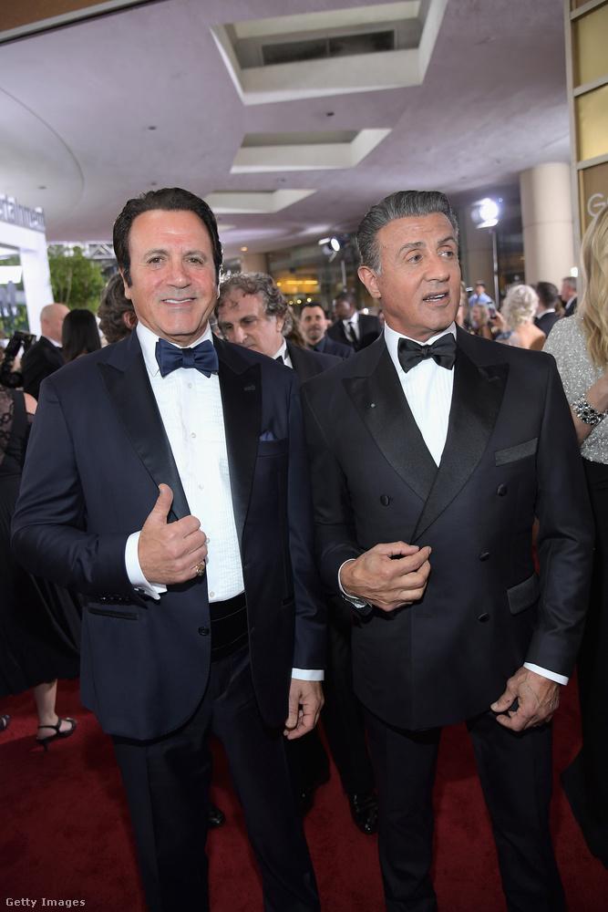 Frank Stallone Grammy- és Golden Globe-díjra jelölt zenész és színész, akinek egyáltalán nem kell elbújnia testvére mellett