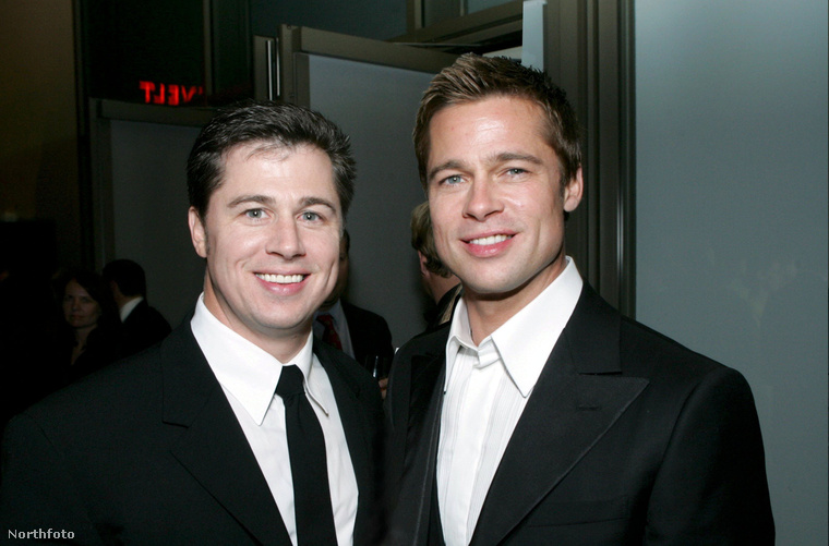 Nem valószínű, hogy mindenki tisztában van vele, de Brad Pittnek van egy jóképű öccse, Douglas Pitt