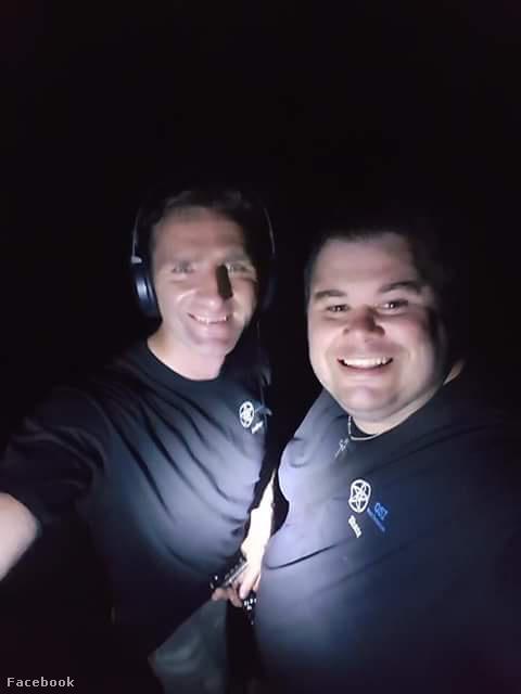 A GSI Paranormal West Yorks két oszlopos tagja