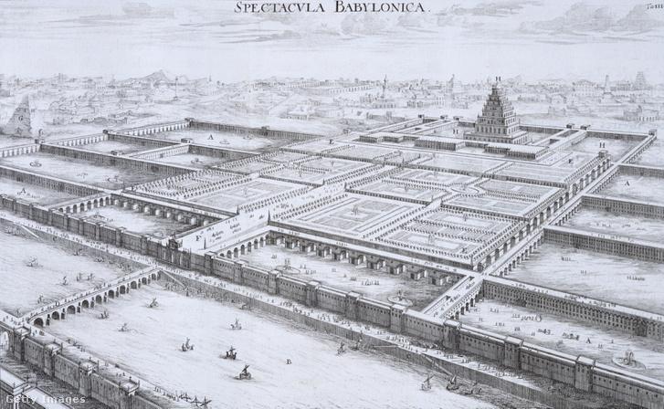 Az ókori Babilon, ahogy a középkorban ábrázolták