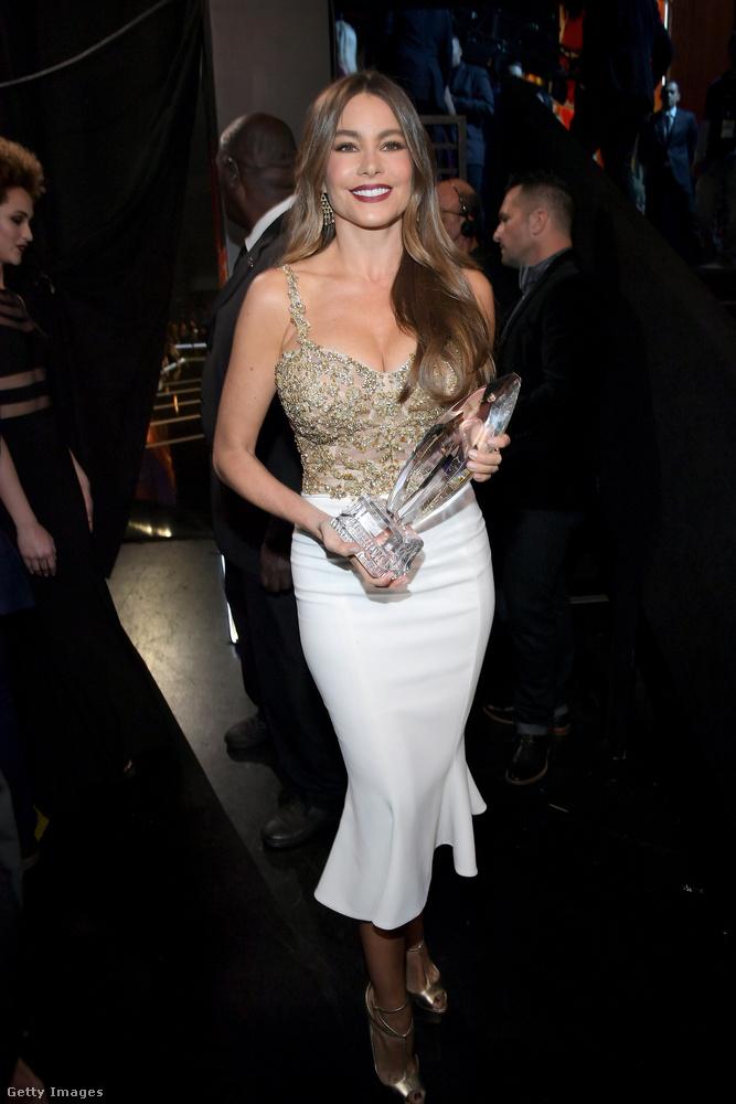 Sofia Vergara lett a Kedvenc Vígjátéksorozatos Színésznő.Eddig semmi meglepő a díjazottak terén, ugye.