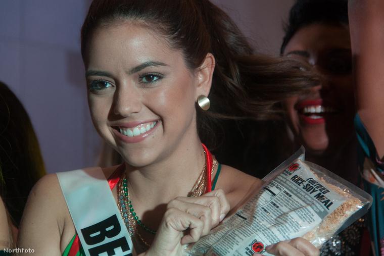 Tudja kiről nincs egy deka kép se? Bódizs Veronikáról, Miss Hungary-ről.Itt sem ő, hanem Miss Belize látható