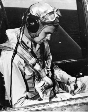 Georeg H. Bush, a légierő pilótája