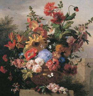 Bogdány Jakab: Virágcsendélet
