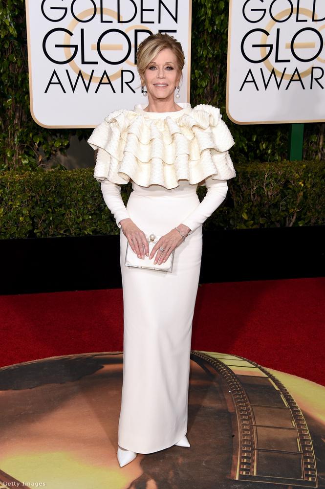És végül, de nem utolsósorban álljon itt az imádnivaló színésznő és fitneszguru, Jane Fonda