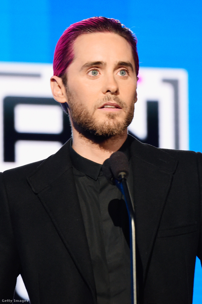 A 30 Seconds to Mars énekese, Jared Leto pedig már a 44