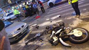 A másodofokú bíróság szerint nem kellett volna üldözni a Kolosy téri motoros tolvajokat