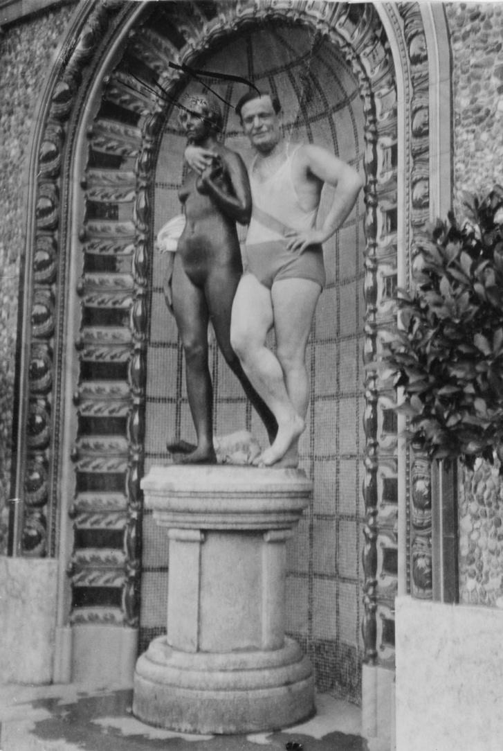 A Gellért-fürdőben 1929-ben.