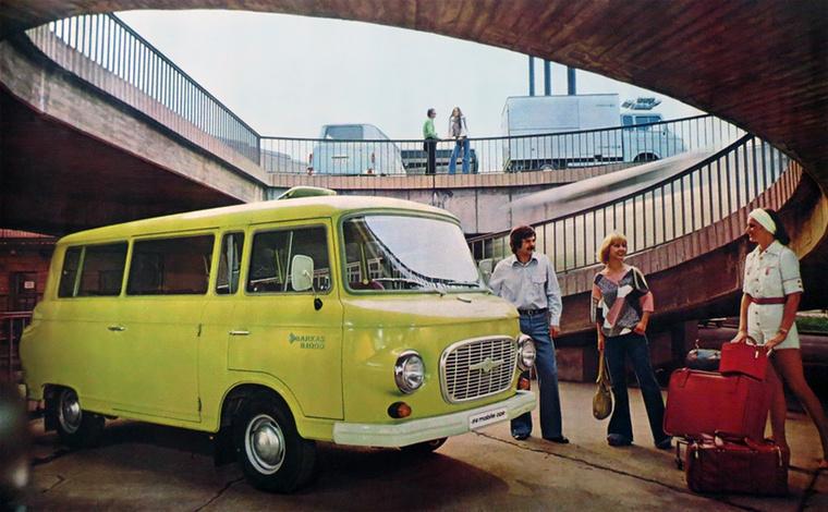 A Barkas B 1000 fejlesztése még 1954-ben indult, a kész modellt 1961-ben mutatták be