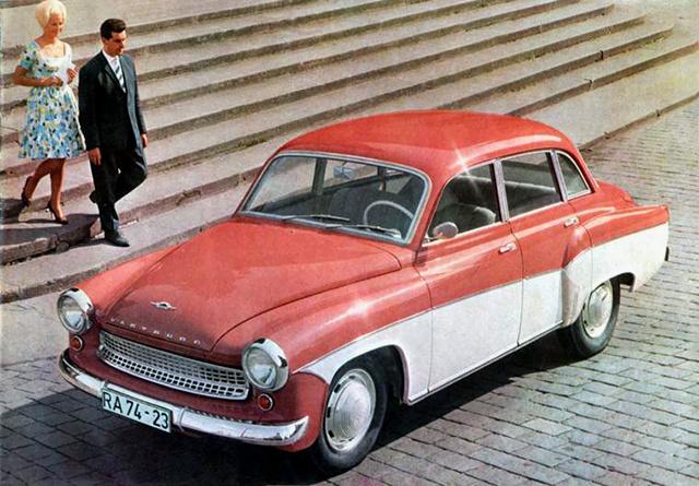 Az első púpos Wartburg 1954-ben még EMW 311 néven készült el
