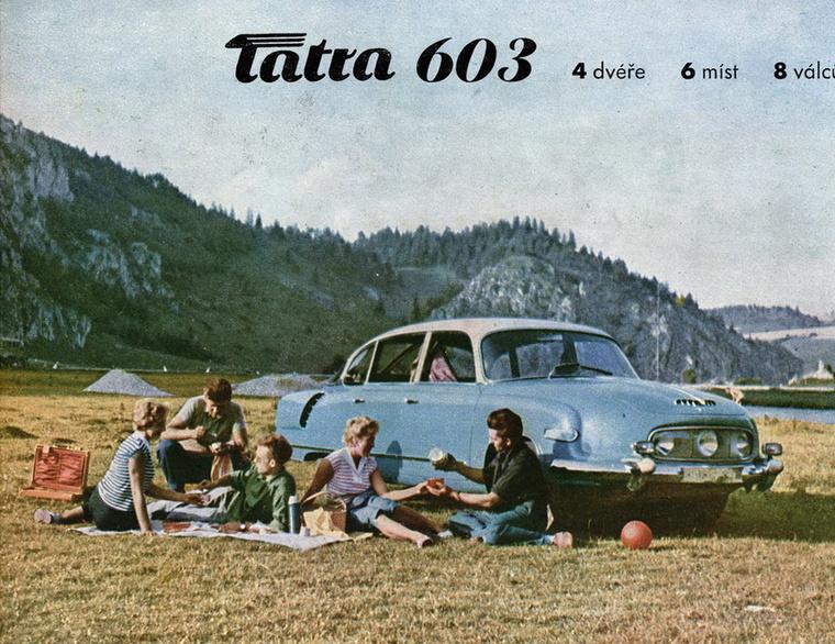 Igazi csodaautónak számított a Tatra 603