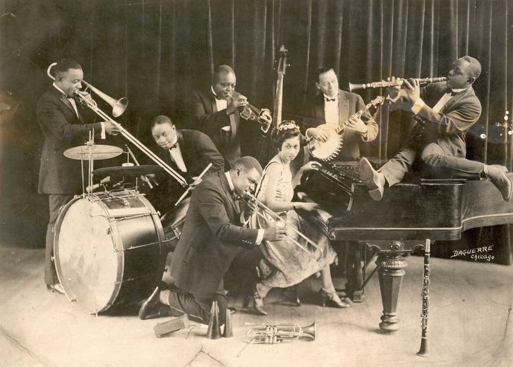 Joe King Oliver és zenekara