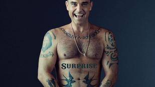 Robbie Williams a Lánchidat és az ágyékát is posztolta a héten