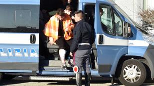Veronai buszbaleset: ketten még mindig életveszélyes állapotban vannak