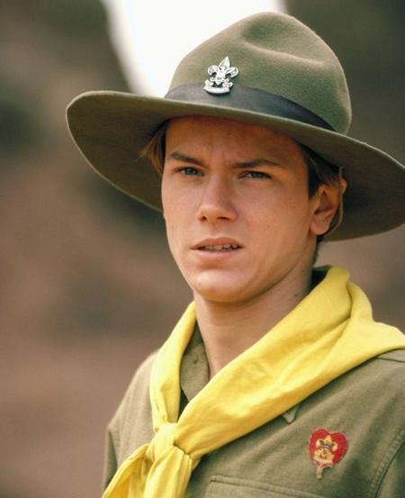 River Phoenix az ifjú Indiana Jonesként az Indiana Jones és az utolsó kereszteslovagban